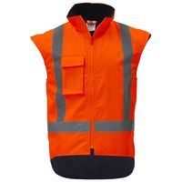 Wise Hi Vis Day/Night Fleece Lined Vest Thumbnail
