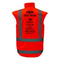COVID-19 Winter Vest - Keep Calm  Thumbnail