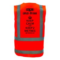 COVID-19 Economy Vest - Keep Calm Thumbnail